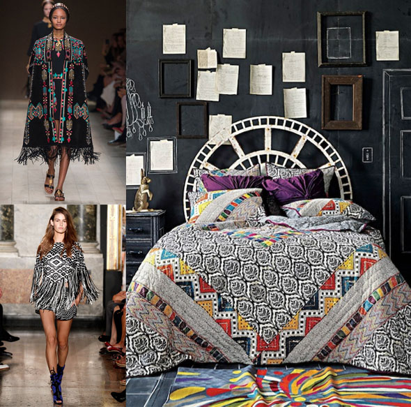 Tribal Patterns Take Interiors By Storm Paint Pattern