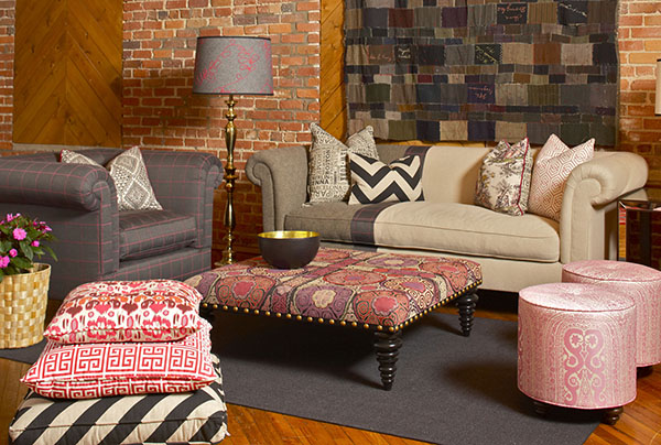 Traditional and Tribal Pattern Design Mix | Home Interior Trends