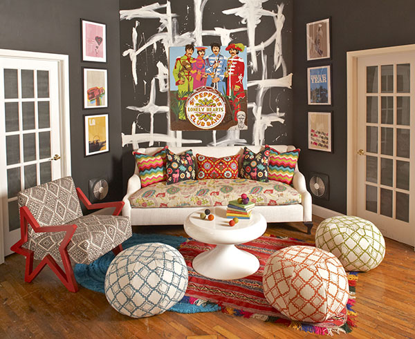 Vibrant and Eclectic Design with African Inspired Tribal Patterns