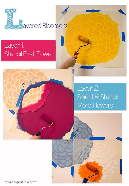 how-to-flower-stencils