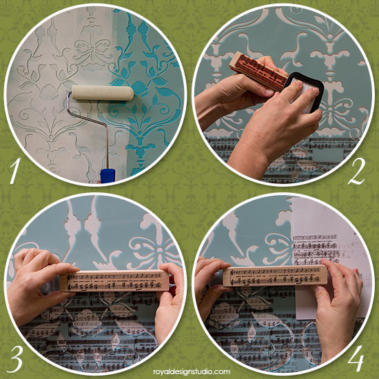 how-to-stencil-with-stamps