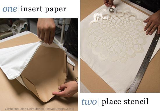 pillow-stenciling