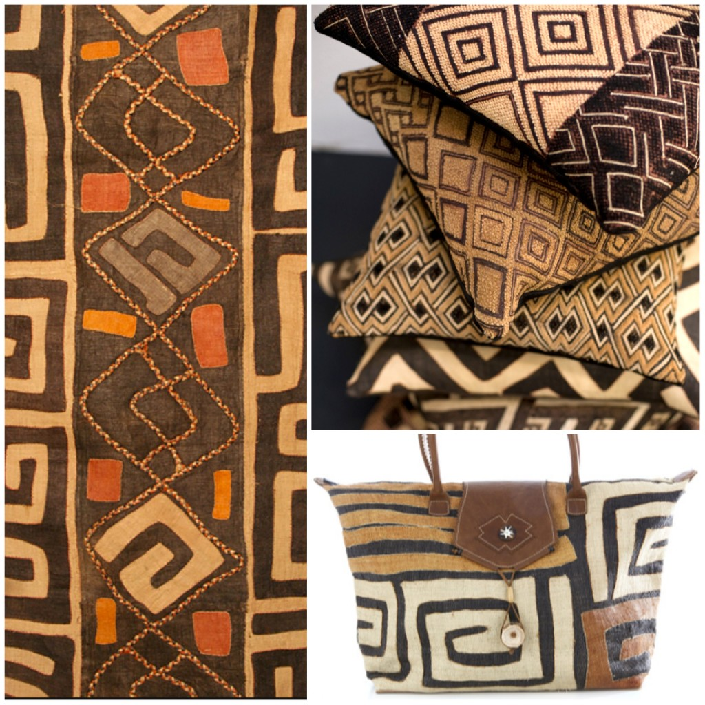 African Kuba Cloth Textiles. A DIY stencil project on Pant + Pattern