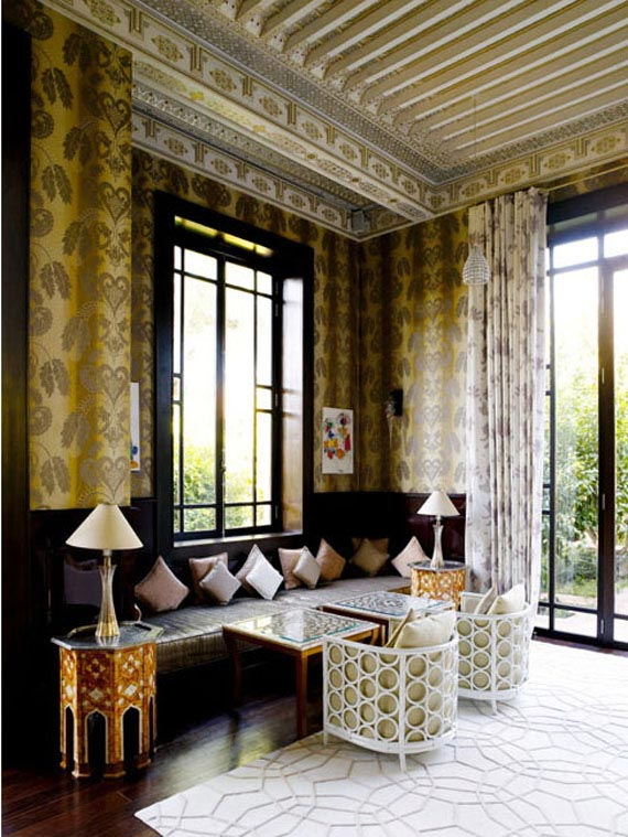 Decorative Painting and Plaster. The Royal Mansour in Marrakech on Paint and Pattern
