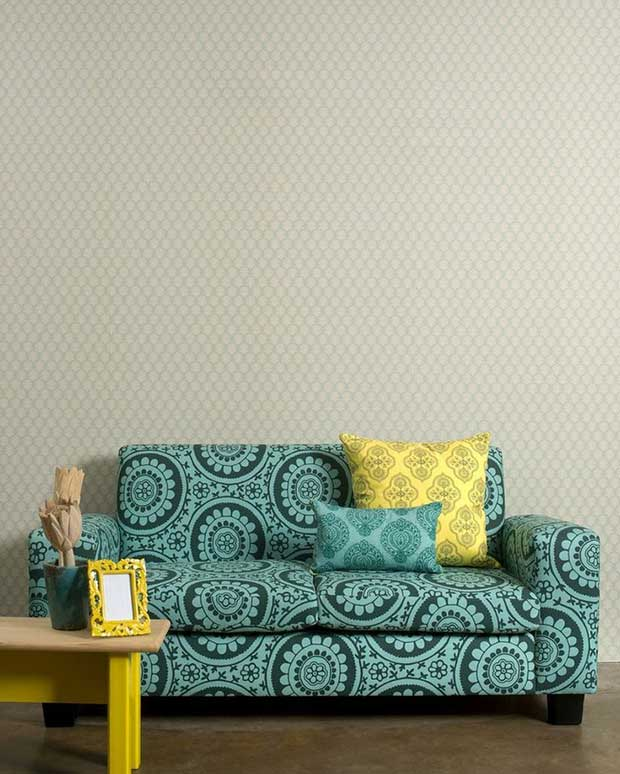 Couch furnishing and design by Design Team