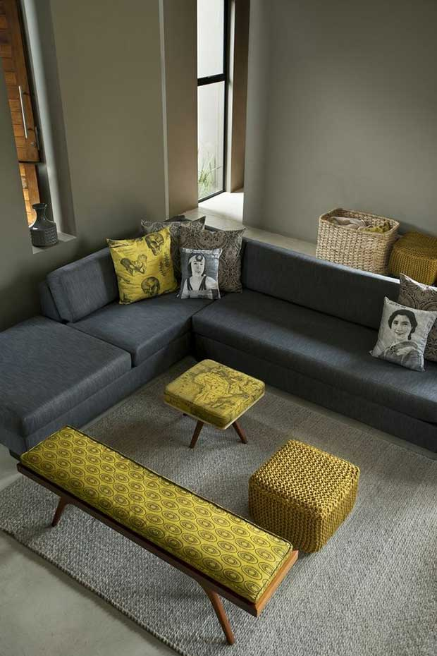 Gorgeous living room furnishings designed by Design Team