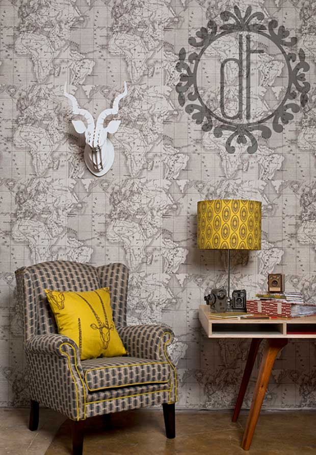 Furnishings and wallpapers by Design Team