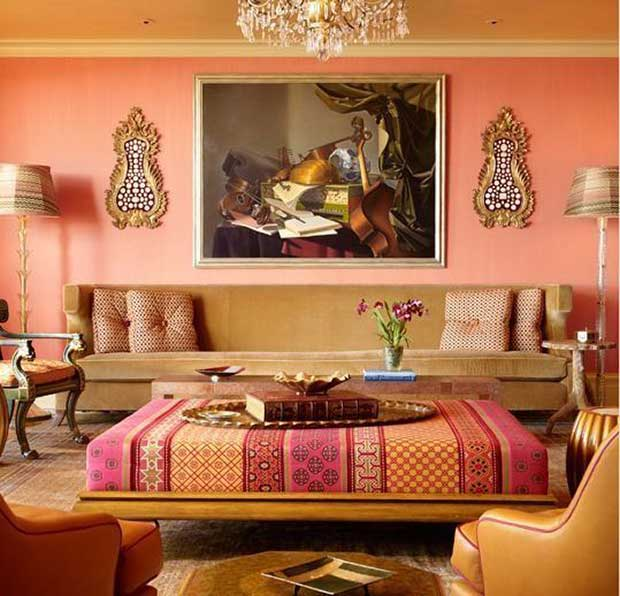 Indian Living Room Designs Living Room: 10 Colorful India Inspired Interiors