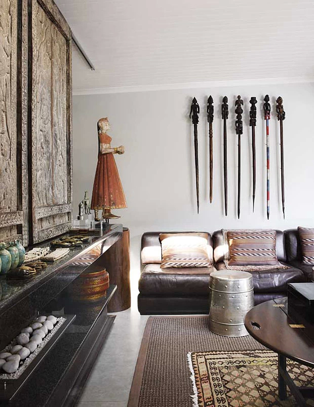 African Inspired interiors. Home in South Africa.