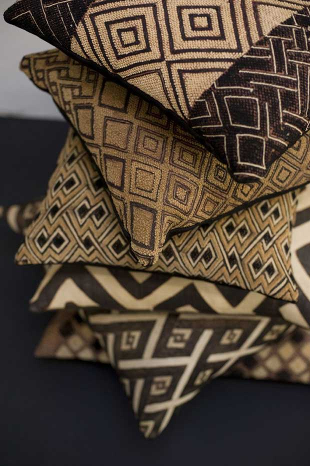 African Mod-cloth Pillow Covers