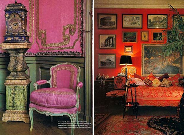 Pink And Red Room Decor Decorated Living Rooms Roundup On Paint Pattern