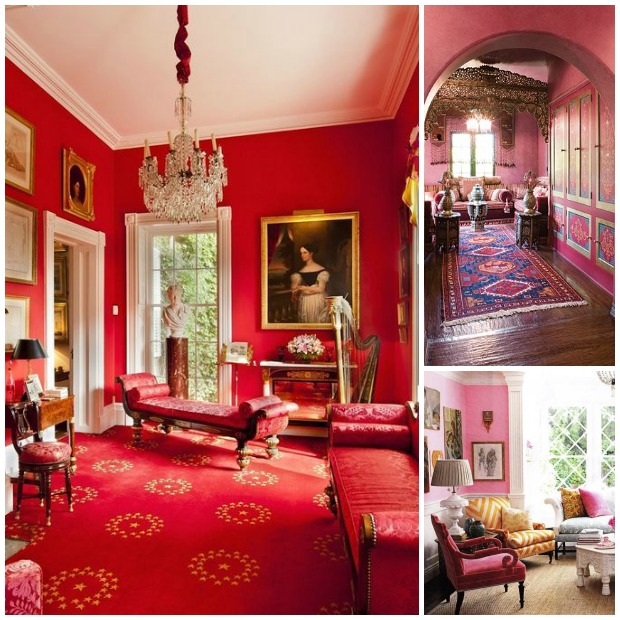 Pink And Red Room Decor Roundup On Paint Pattern