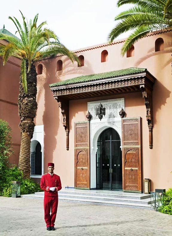 The Royal Mansour in Marrakech on Paint and Pattern