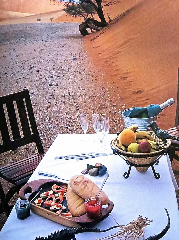 Simply Safari Book - Dinner Table