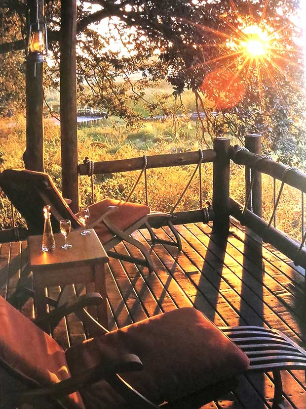 Simply Safari Book - Sunset from the Porch