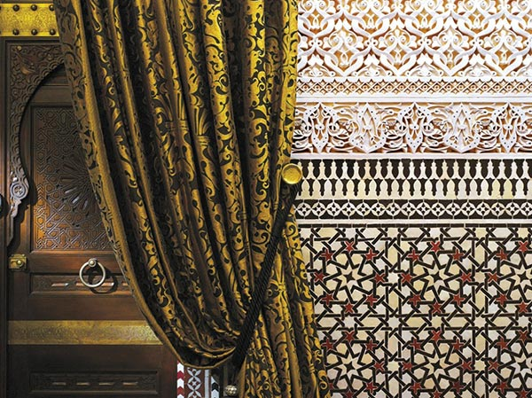 Zellij tile patterns. The Royal Mansour in Marrakech on Paint and Pattern