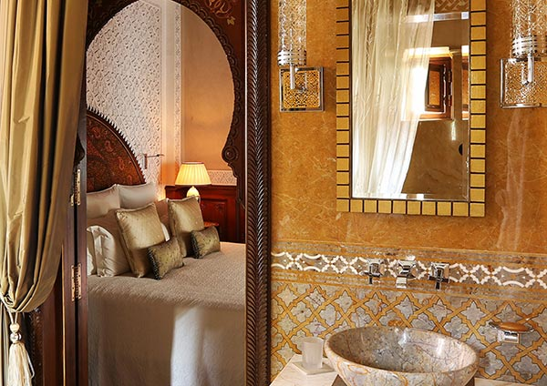 Private Riad. The Royal Mansour in Marrakech on Paint and Pattern