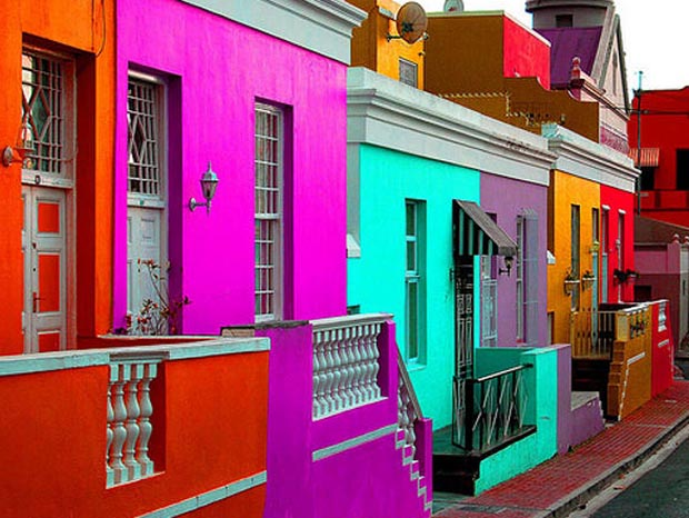 Colorful houses of Bo-Kaap, Cape Town