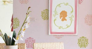 In the Pink! Stencil Decorating Ideas with this Versatile Hue