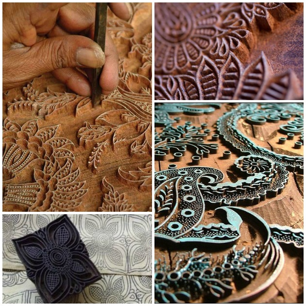 Block Printing Blocks made out of Wood