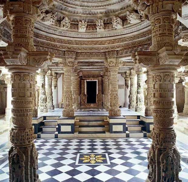 Magnificent marble carvings of Dilwara Jain temples via Paint+Pattern