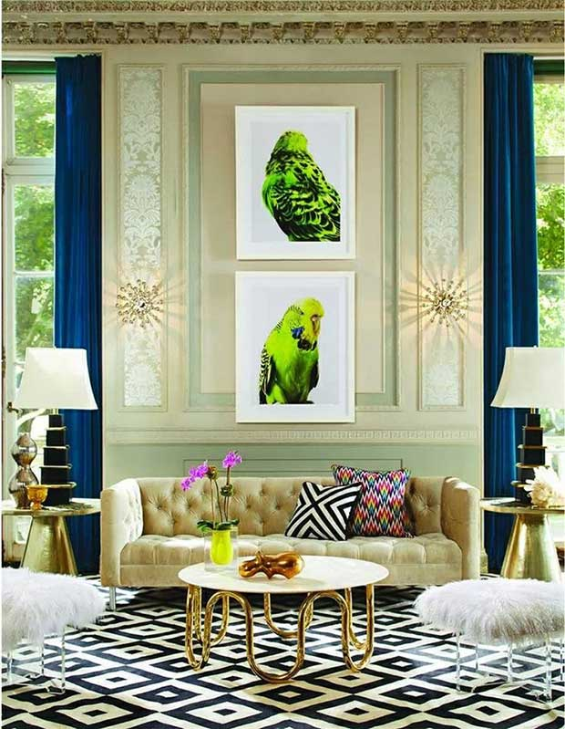 Contemporary interiors from Elle Decor Magazine