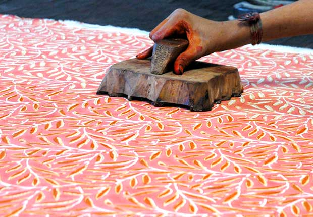 The Block Printing Textiles Of India Paint Pattern