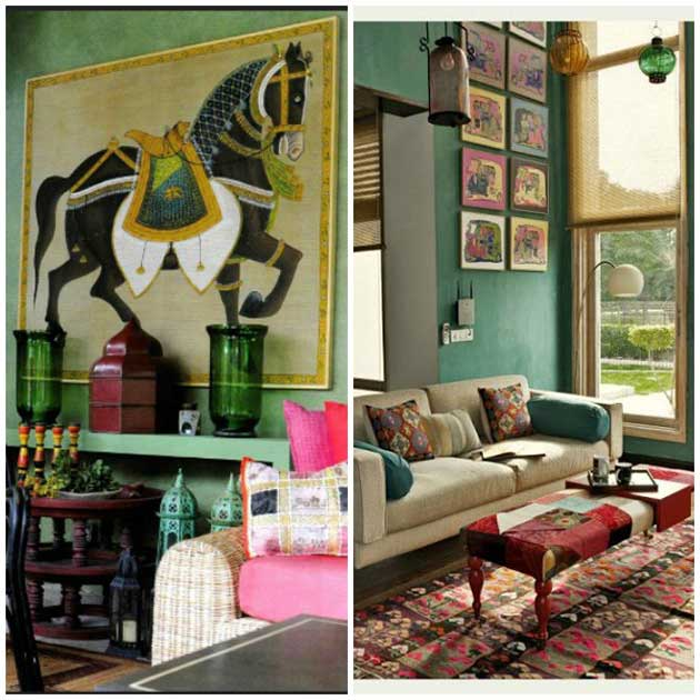 Pinterest Home Decor 2014: Paint+Pattern+Pinterest: Inspired By Indian Design
