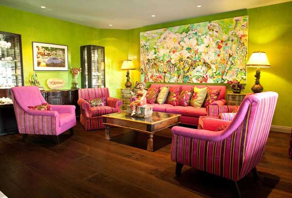 Green India Inspired Living Room