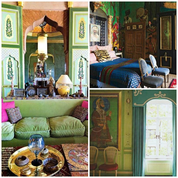 Green India Inspired Rooms