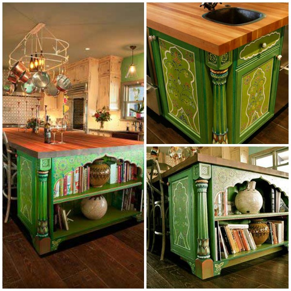 Green India Inspired Kitchen