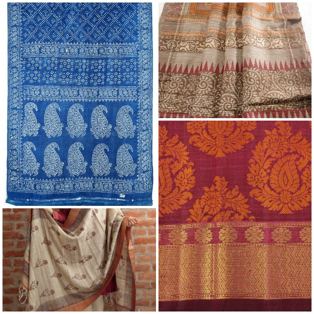 Silk sari pattern inspirations for DIY via Paint+Pattern