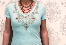DIY Henna-Inspired Shirts with Tee Juice Pens