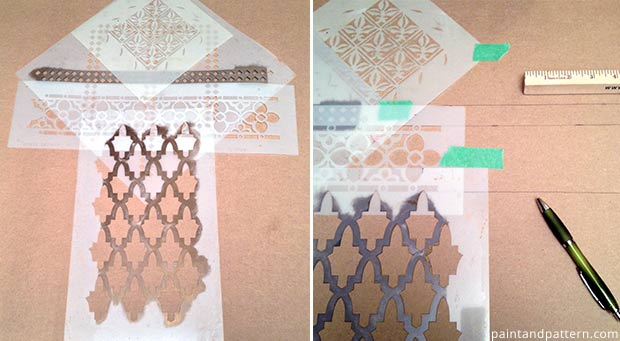 Stencil patterns from Royal Design Studio