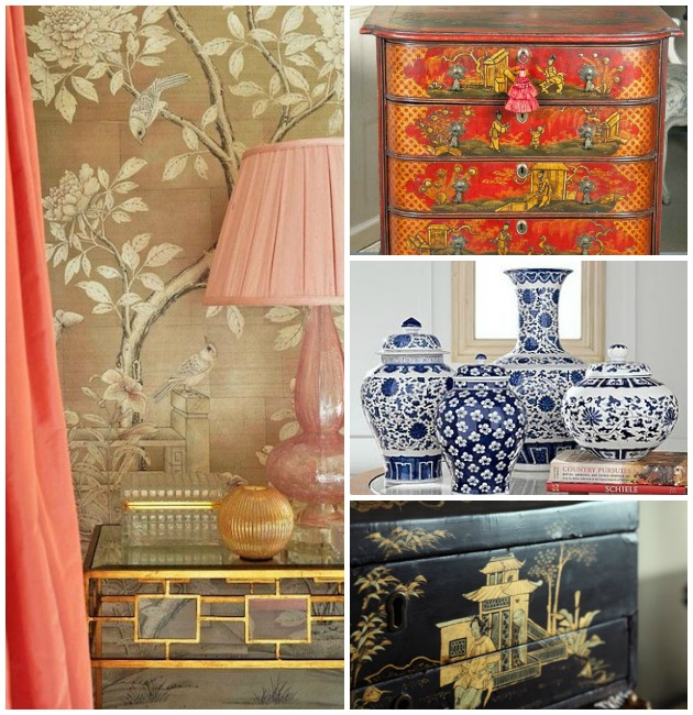 Contemporary Home Decor: Contemporary Home Decor With Chinoiserie
