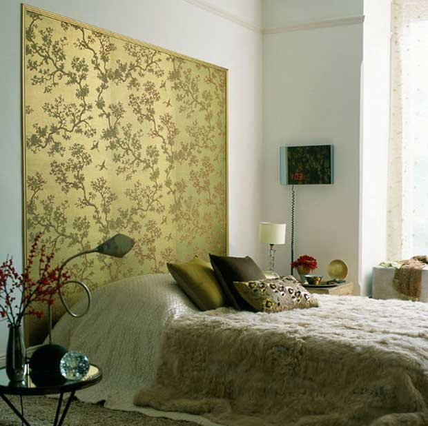 Contemporary home decor with chinoiserie paint pattern for Oriental style wallpaper uk