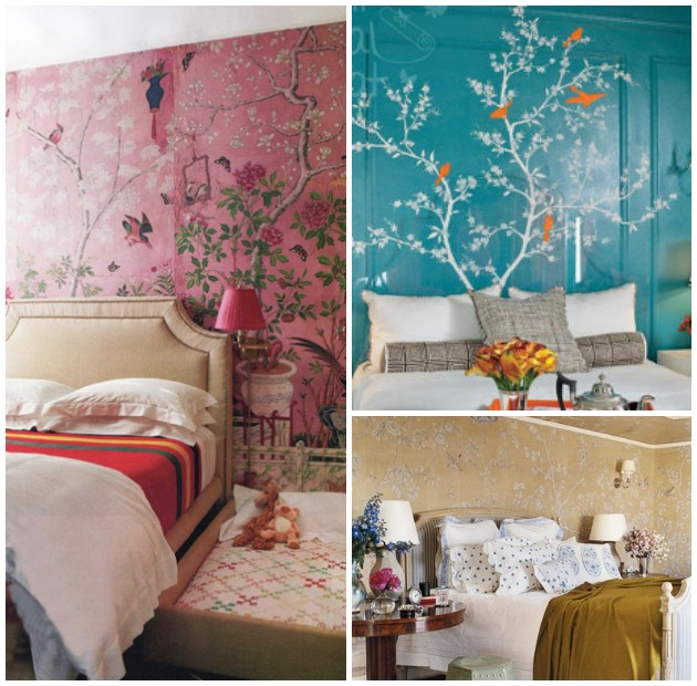 Contemporary Chinoiserie Decor – Bedrooms