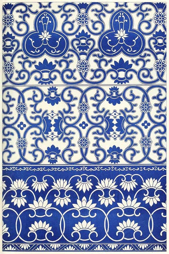 Patterns from 'Examples of Chinese Ornament' | Paint + Pattern