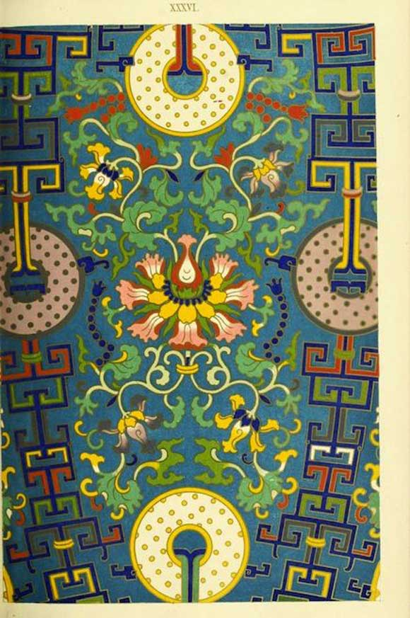 Floral-Patterns-of-Chinese-Ornaments-7