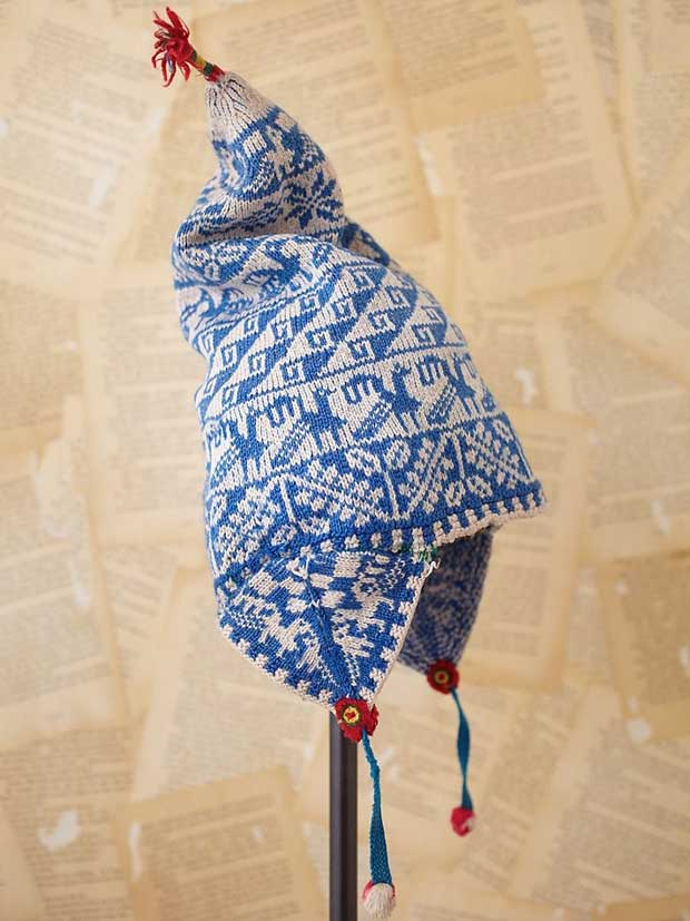 Bolivian Knit Hat via Paint + Pattern