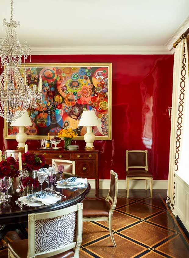 Red-Lacquer-Dining-Room-Wall