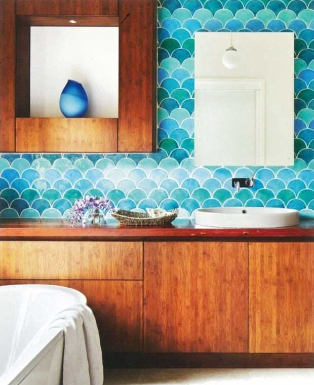 Scallops in design via Camilla Molders Design Melbourne | Paint + Pattern