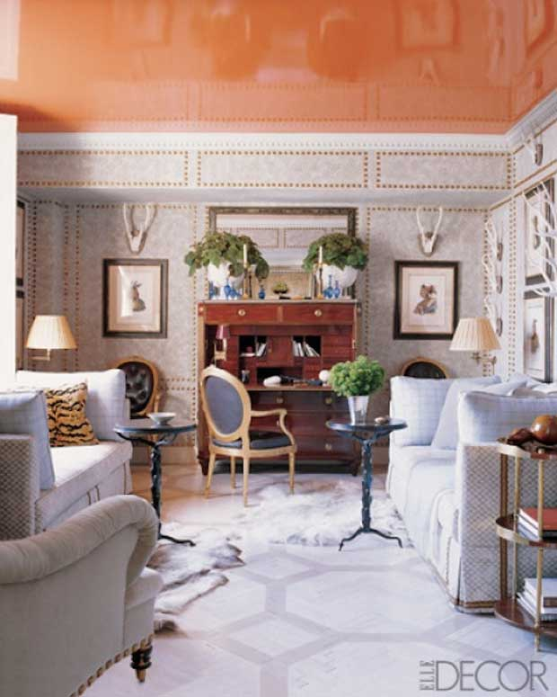 Tangerine-Lacquer-Ceiling