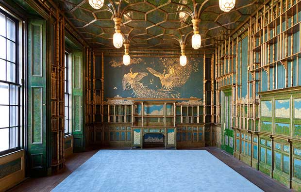 The Peacock Room restored in the Smithsonian's Freer Gallery of Art | Paint + Pattern