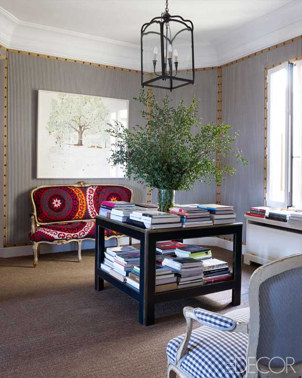 Carolina Herrera's residence via Baez Home | Paint + Pattern