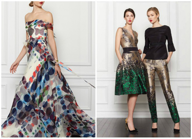 Carolina Herrera Fashion via Paint + Pattern