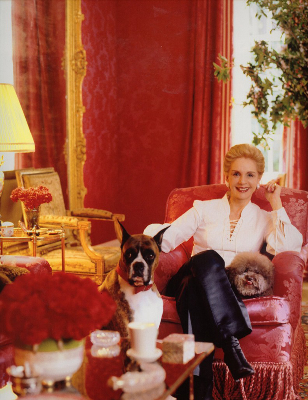 Carolina Herrera photographed by Pieter Estersohn via Paint + Pattern