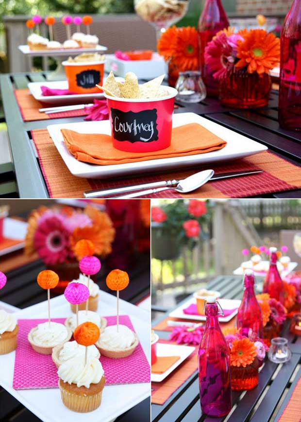 Cinco De Mayo Party Ideas for a colorful table setting via Paint + Pattern