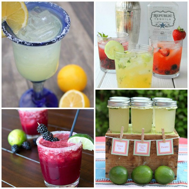 Cinco De Mayo Party Ideas for serving drinks via Paint + Pattern
