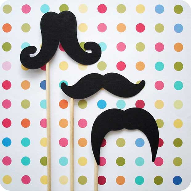 Cinco De Mayo Party Ideas for Mustache DIY via Paint + Pattern